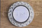 GX53 L180 Прозрачный хром